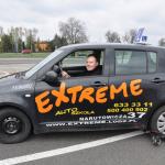 Pojazd autoszkoły Extreme na trolejach