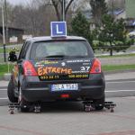 Samochód kursowy na trolejach - Auto szkoła Extreme Łódź