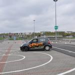 Troleje na placu manewrowym - Auto szkoła Extreme Łódź